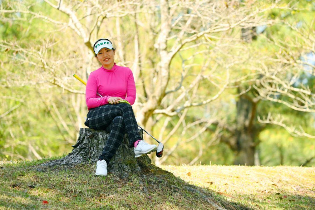 アクサレディスゴルフトーナメント in MIYAZAKI 2021 黄アルム <Photo:Atsushi Tomura/Getty Images>