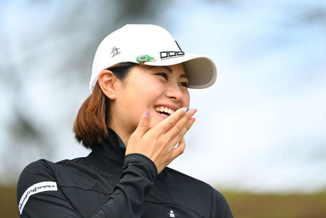 アクサレディスゴルフトーナメント in MIYAZAKI 2021 新垣比菜 <Photo:Atsushi Tomura/Getty Images>