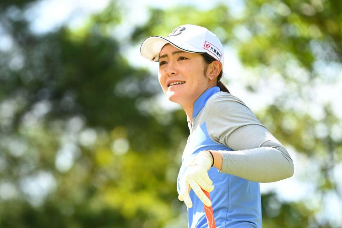 アクサレディスゴルフトーナメント in MIYAZAKI 2021 渡邉彩香 <Photo:Atsushi Tomura/Getty Images>