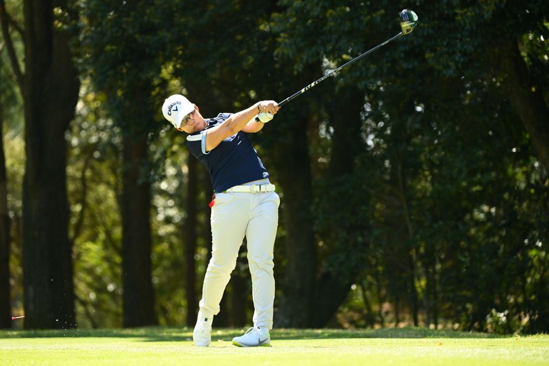 アクサレディスゴルフトーナメント in MIYAZAKI 2021 第1日 申ジエ <Photo:Atsushi Tomura/Getty Images>
