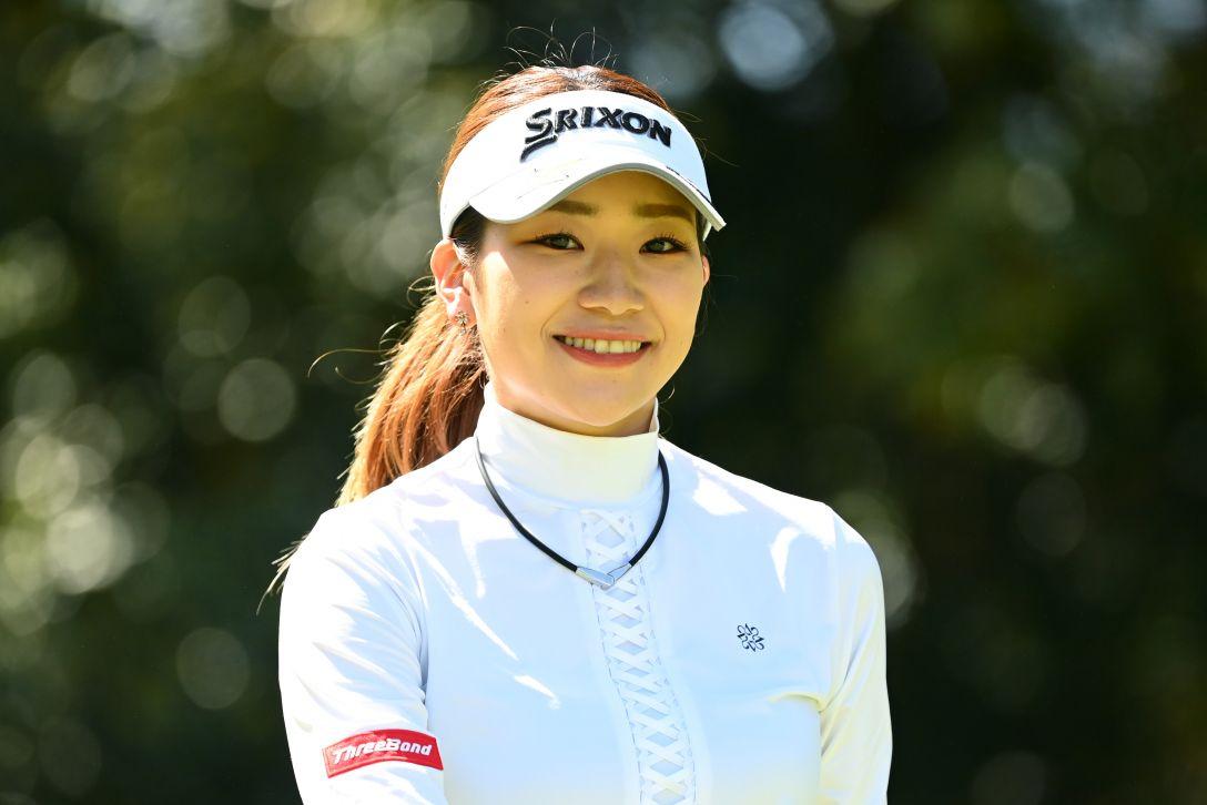 アクサレディスゴルフトーナメント in MIYAZAKI 2021 第1日 安田彩乃 <Photo:Atsushi Tomura/Getty Images>
