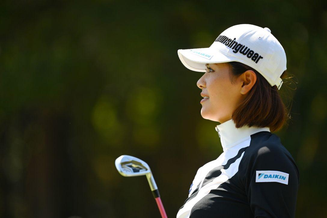 アクサレディスゴルフトーナメント in MIYAZAKI 2021 第1日 新垣比菜 <Photo:Atsushi Tomura/Getty Images>