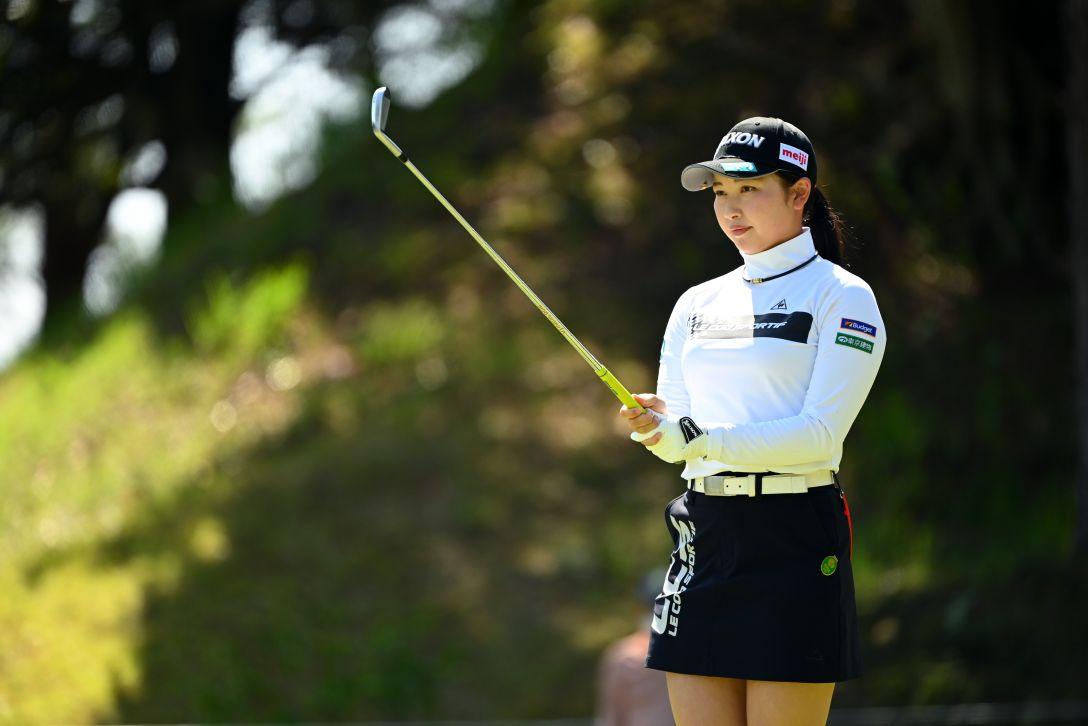 アクサレディスゴルフトーナメント in MIYAZAKI 2021 第1日 小祝さくら <Photo:Atsushi Tomura/Getty Images>