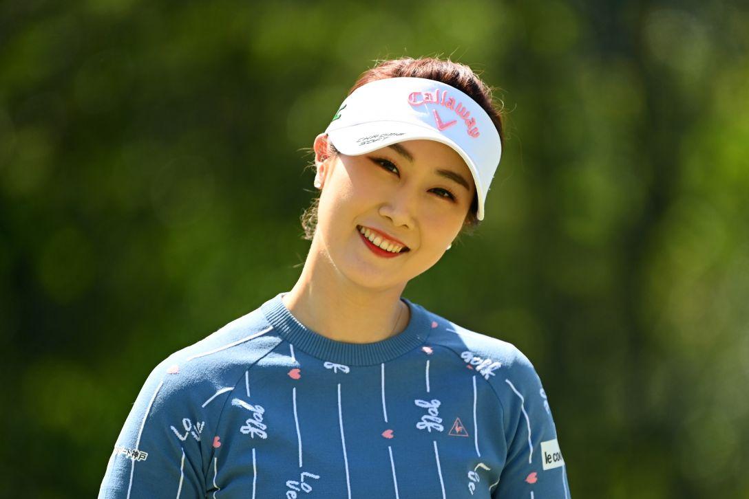 アクサレディスゴルフトーナメント in MIYAZAKI 2021 第1日 キムハヌル <Photo:Atsushi Tomura/Getty Images>