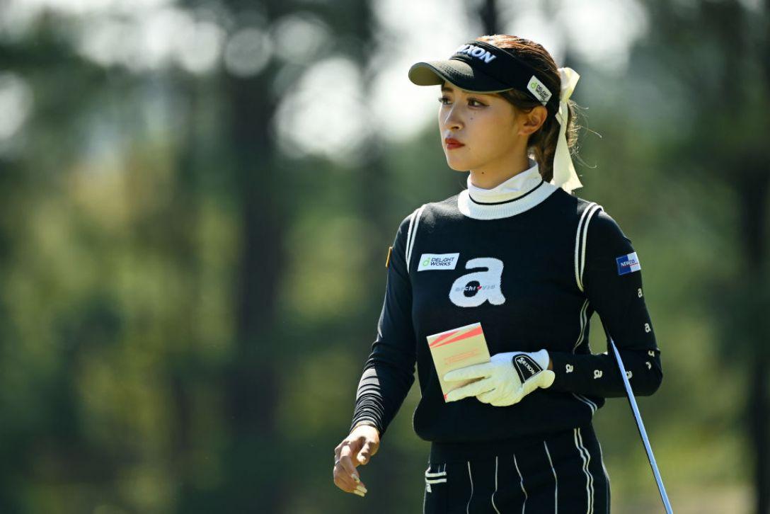アクサレディスゴルフトーナメント in MIYAZAKI 2021 第1日 臼井麗香 <Photo:Atsushi Tomura/Getty Images>