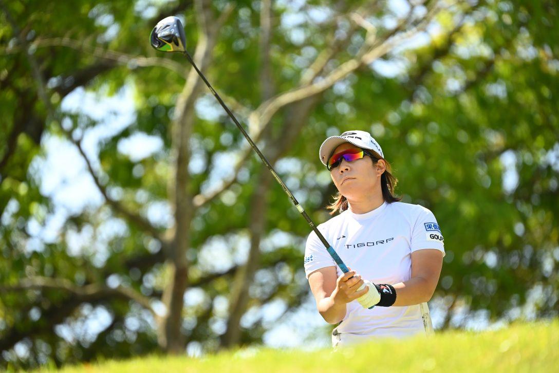 アクサレディスゴルフトーナメント in MIYAZAKI 2021 第2日 穴井詩 <Photo:Atsushi Tomura/Getty Images>