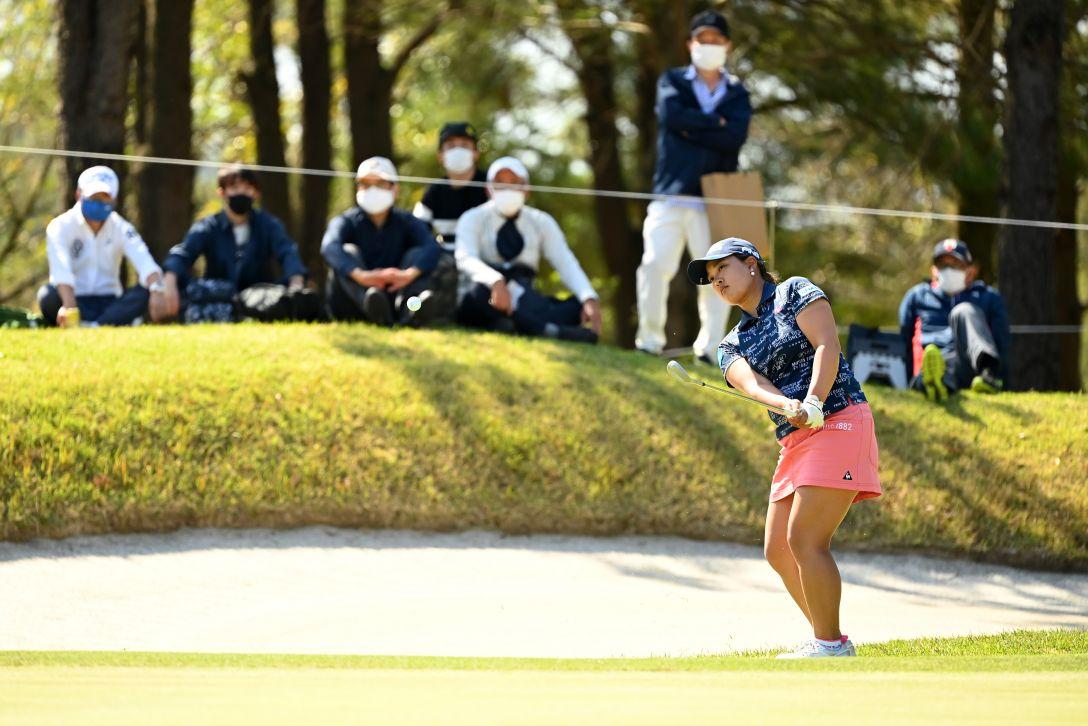 アクサレディスゴルフトーナメント in MIYAZAKI 2021 第2日 鈴木愛 <Photo:Atsushi Tomura/Getty Images>