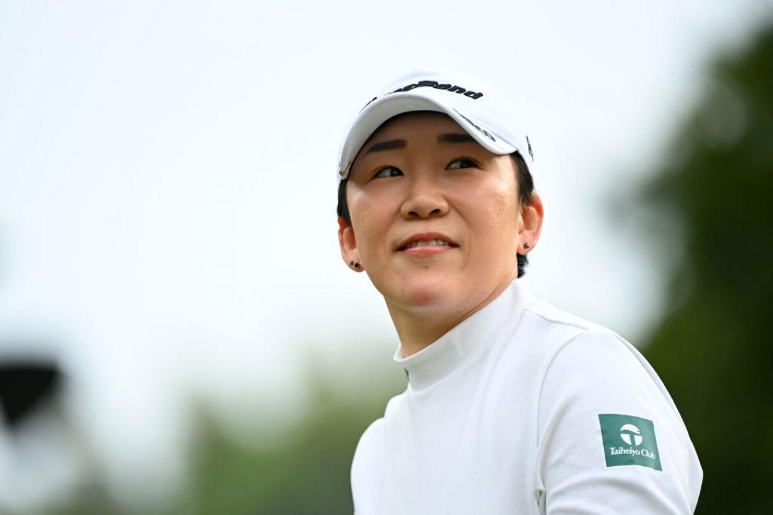 アクサレディスゴルフトーナメント in MIYAZAKI 2021 最終日 申ジエ <Photo:Atsushi Tomura/Getty Images>