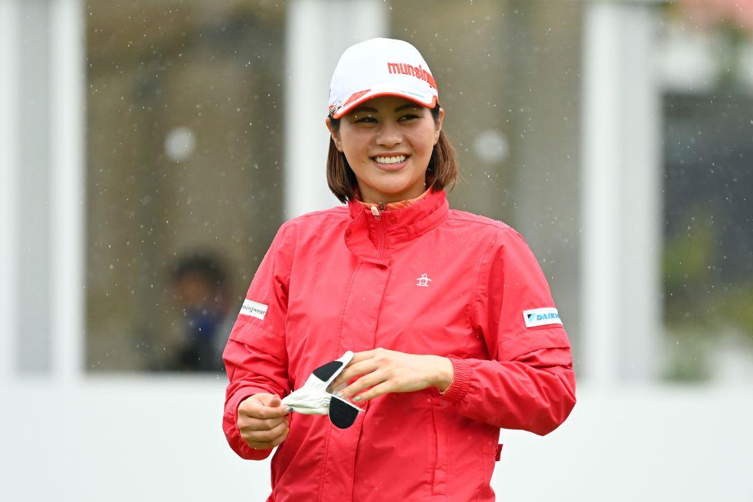 アクサレディスゴルフトーナメント in MIYAZAKI 2021 最終日 新垣比菜 <Photo:Atsushi Tomura/Getty Images>