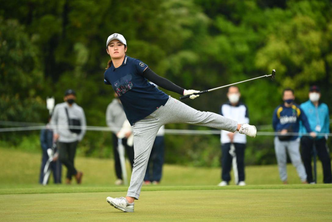 アクサレディスゴルフトーナメント in MIYAZAKI 2021 最終日 稲見萌寧 <Photo:Atsushi Tomura/Getty Images>