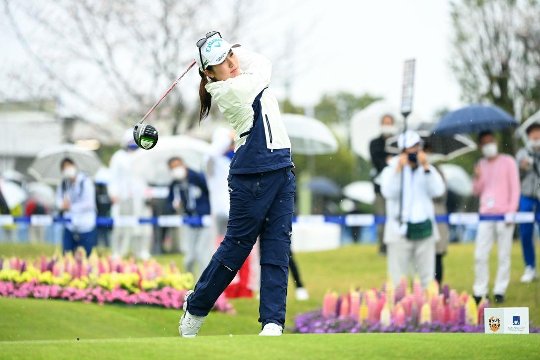 アクサレディスゴルフトーナメント in MIYAZAKI 2021 最終日 西村優菜 <Photo:Atsushi Tomura/Getty Images>