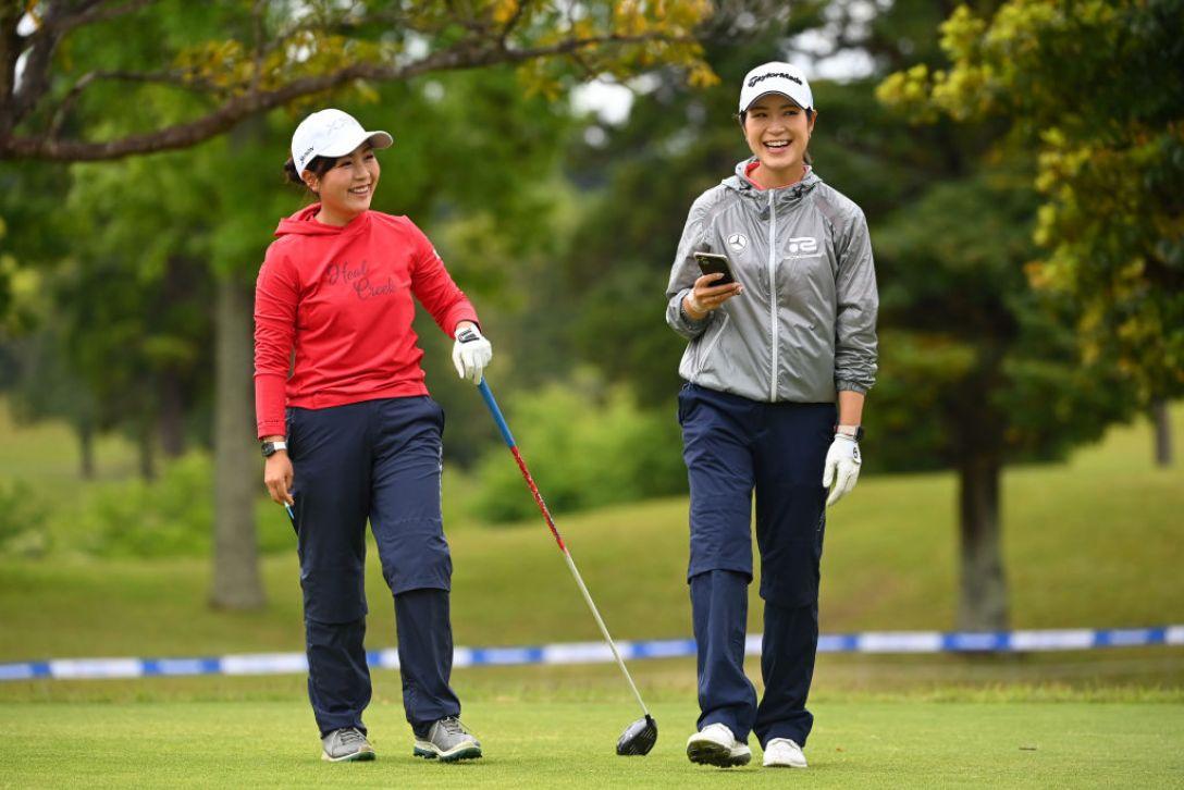 パナソニックオープンレディースゴルフトーナメント 青木瀬令奈 大西葵 <Photo:Atsushi Tomura/Getty Images>