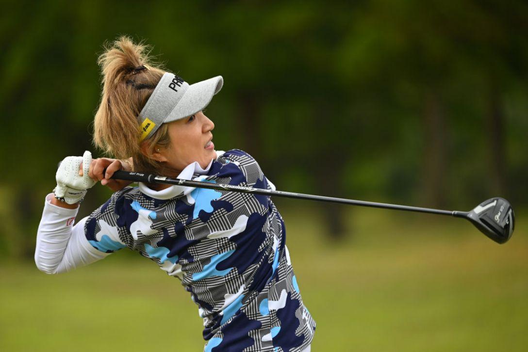 パナソニックオープンレディースゴルフトーナメント 藤本麻子 <Photo:Atsushi Tomura/Getty Images>