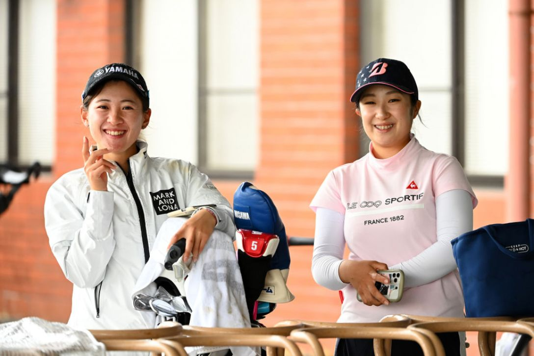 パナソニックオープンレディースゴルフトーナメント 永井花奈 阿部未悠 <Photo:Atsushi Tomura/Getty Images>