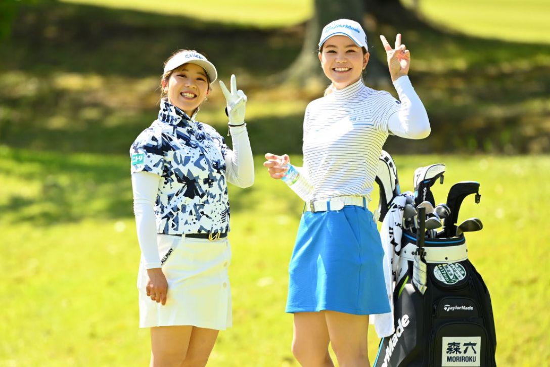パナソニックオープンレディースゴルフトーナメント 第1日 田中瑞希 山路晶 <Photo:Atsushi Tomura/Getty Images>