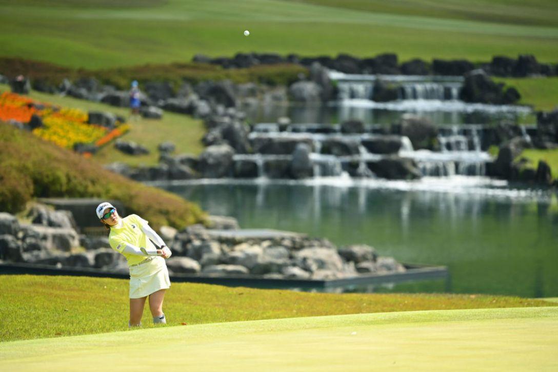 パナソニックオープンレディースゴルフトーナメント 第1日 蛭田みな美 <Photo:Atsushi Tomura/Getty Images>