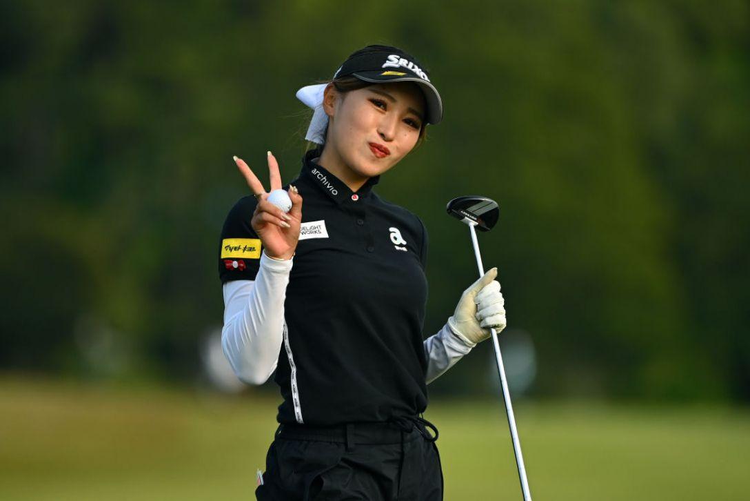 パナソニックオープンレディースゴルフトーナメント 第2日 臼井麗香 <Photo:Atsushi Tomura/Getty Images>