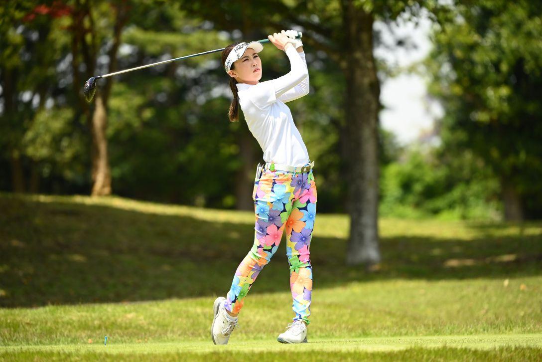 パナソニックオープンレディースゴルフトーナメント 第2日 新武瑠衣 <Photo:Atsushi Tomura/Getty Images>
