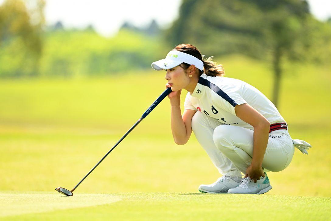 パナソニックオープンレディースゴルフトーナメント 第2日 鶴岡果恋 <Photo:Atsushi Tomura/Getty Images>