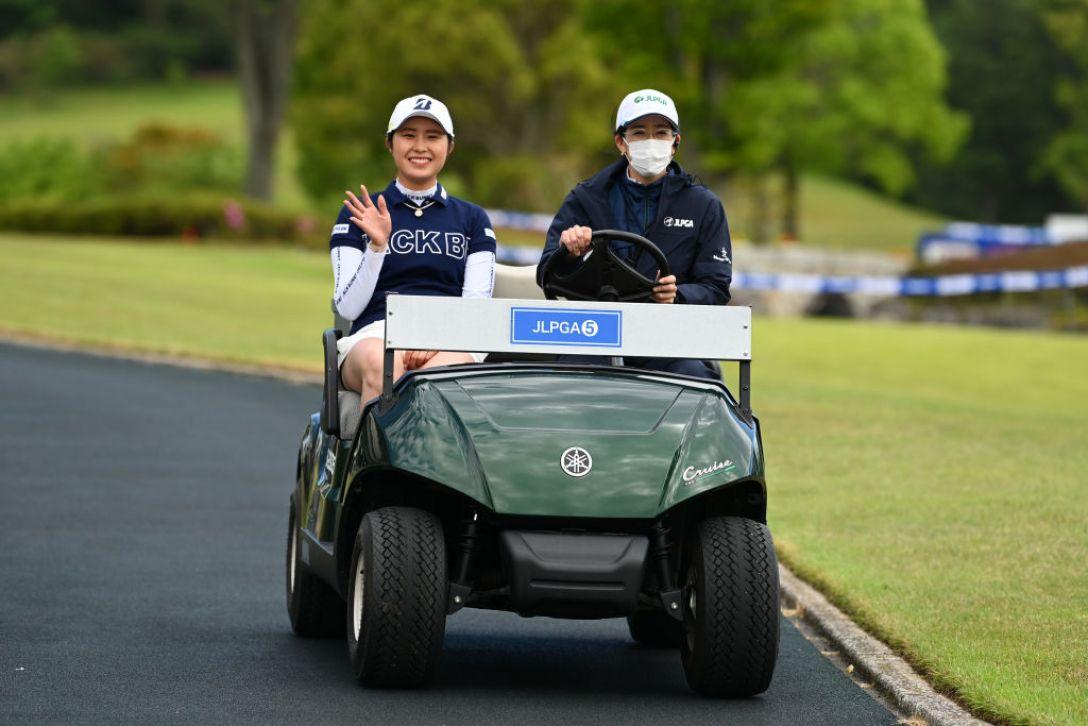 パナソニックオープンレディースゴルフトーナメント 最終日 大里桃子 <Photo:Atsushi Tomura/Getty Images>
