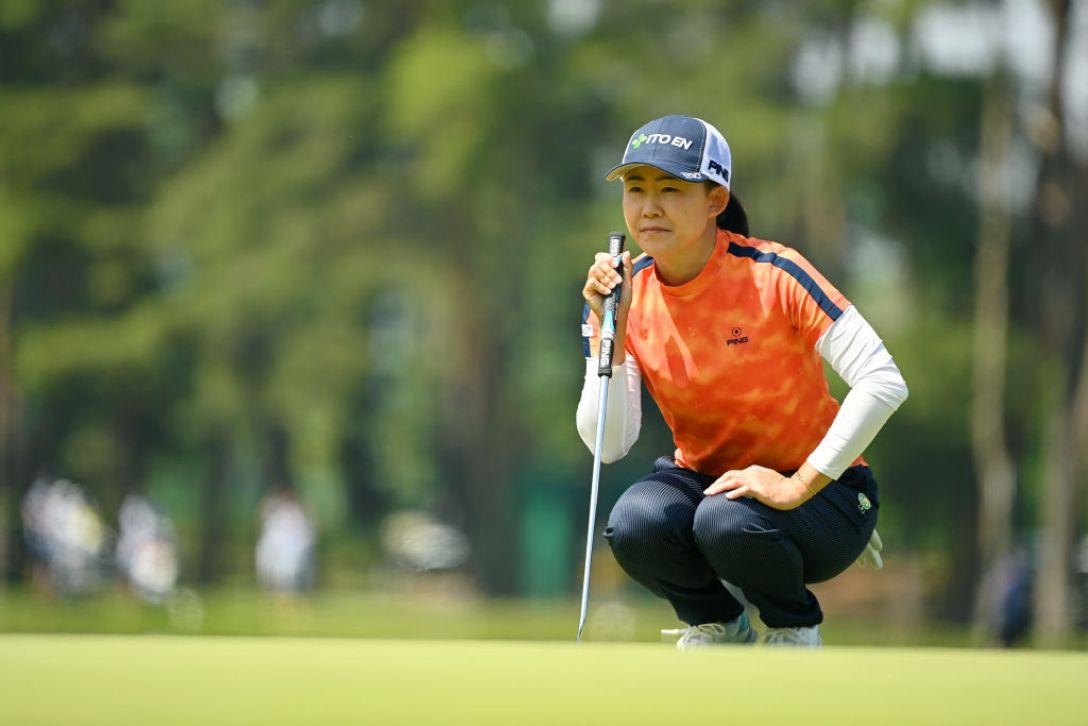 ワールドレディスチャンピオンシップ サロンパスカップ 第3日 前田陽子 <Photo:Atsushi Tomura/Getty Images>