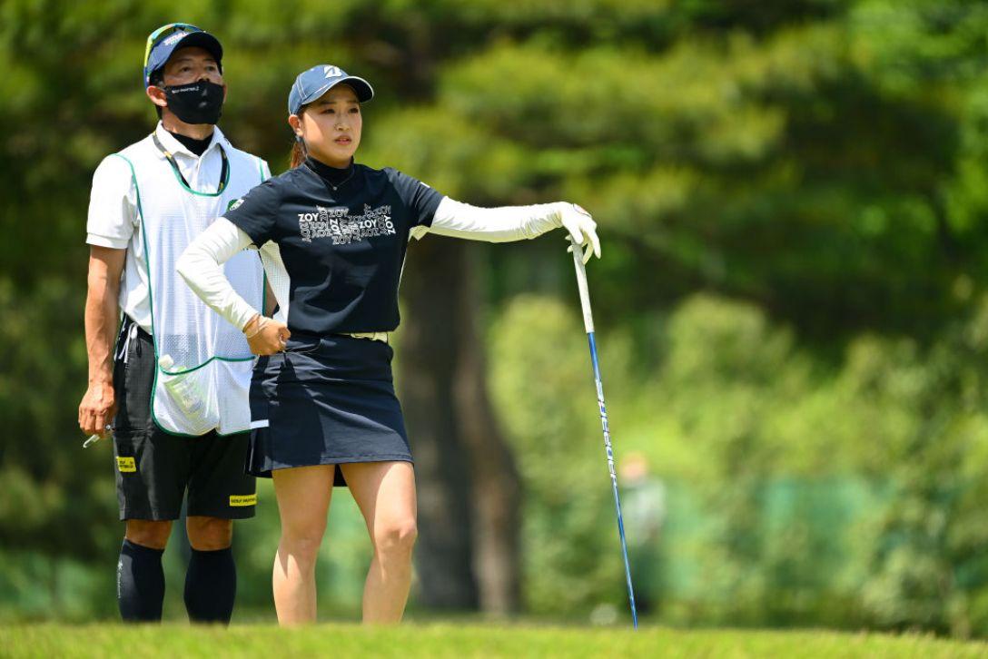 ワールドレディスチャンピオンシップ サロンパスカップ 最終日 髙木優奈 <Photo:Atsushi Tomura/Getty images>