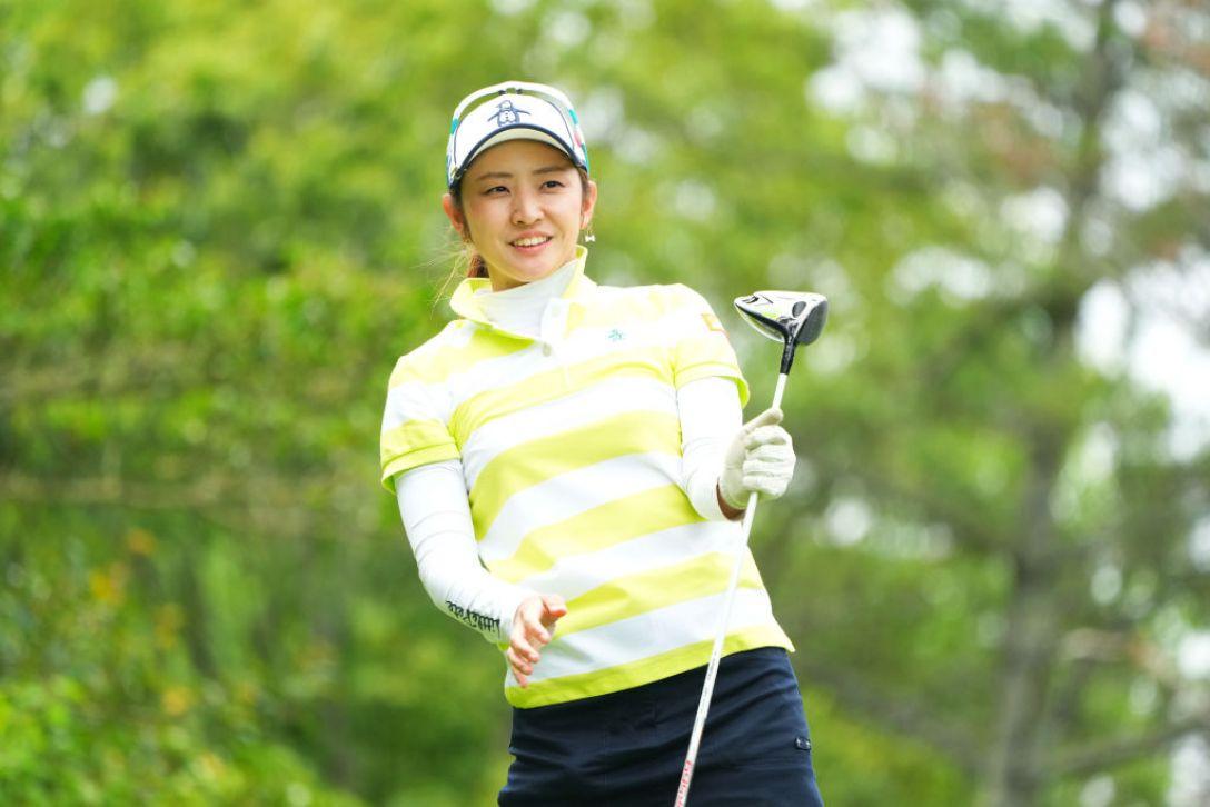 ECCレディスゴルフトーナメント 第1日 斉藤愛璃 <Photo:Masterpress/Getty Images>