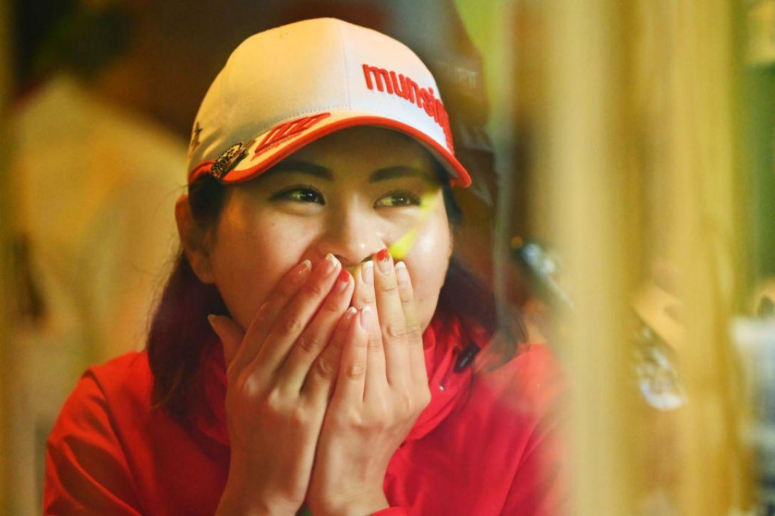 リゾートトラスト レディス 第1日 新垣比菜 <Photo:Atsushi Tomura/Getty Images>