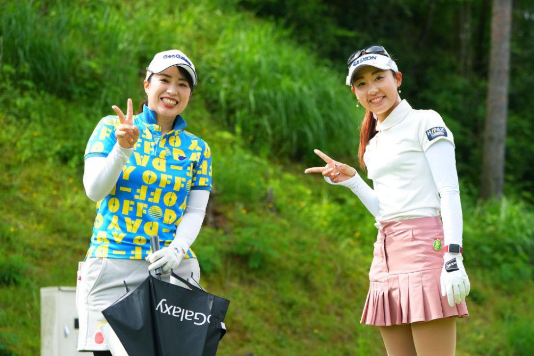 ECCレディスゴルフトーナメント 最終日 東葵 荒井舞 <Photo:Masterpress/Getty Images>