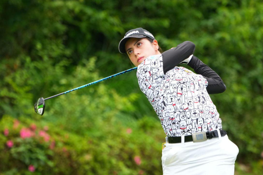 ECCレディスゴルフトーナメント 最終日 スタイヤーノ梨々菜 <Photo:Masterpress/Getty Images>