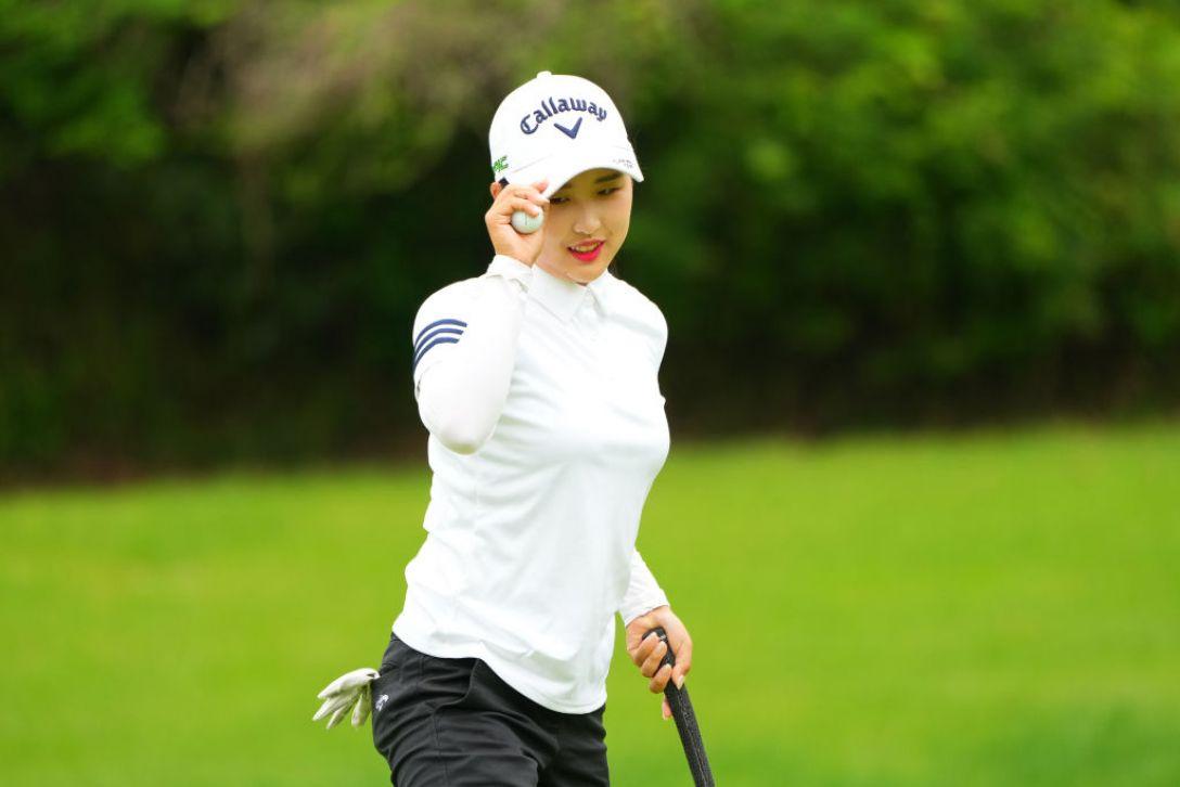 ECCレディスゴルフトーナメント 最終日 リハナ <Photo:Masterpress/Getty Images>