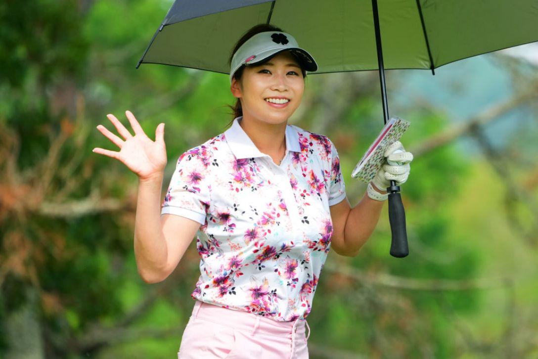ECCレディスゴルフトーナメント 最終日 熊谷かほ <Photo:Masterpress/Getty Images>