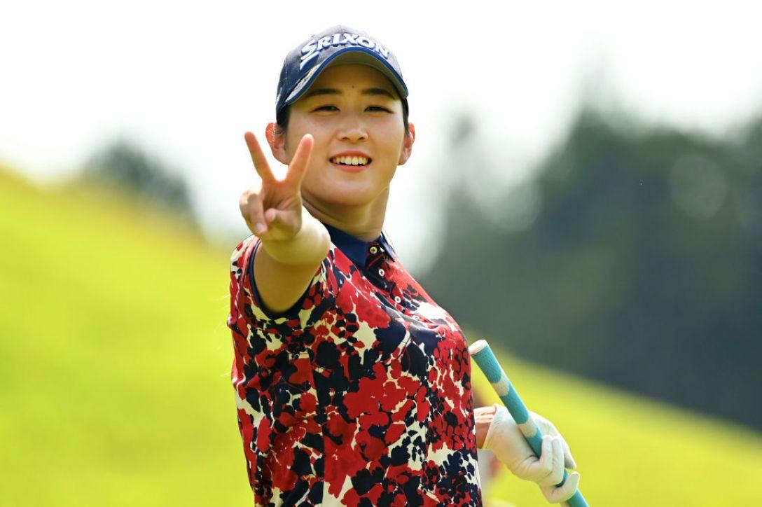 ヨネックスレディスゴルフトーナメント 新海美優 <Photo:Atsushi Tomura/Getty Images>