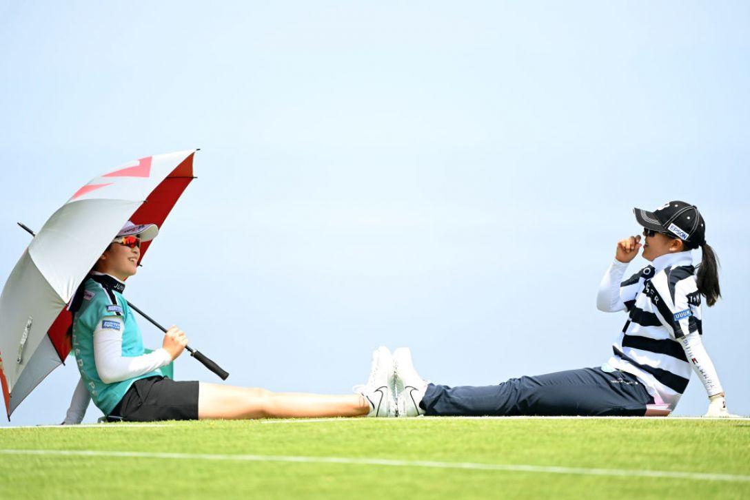 ヨネックスレディスゴルフトーナメント 三ヶ島かな 吉田優利 <Photo:Atsushi Tomura/Getty Images>