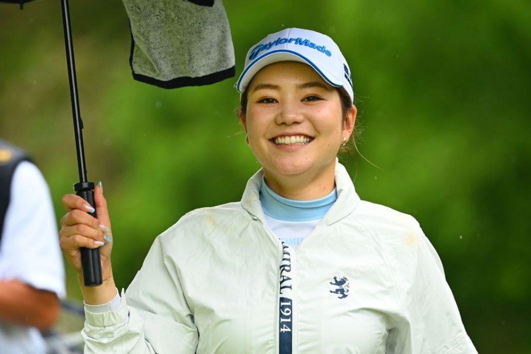 ヨネックスレディスゴルフトーナメント 第1日 山路晶 <Photo:Atsushi Tomura/Getty Images>