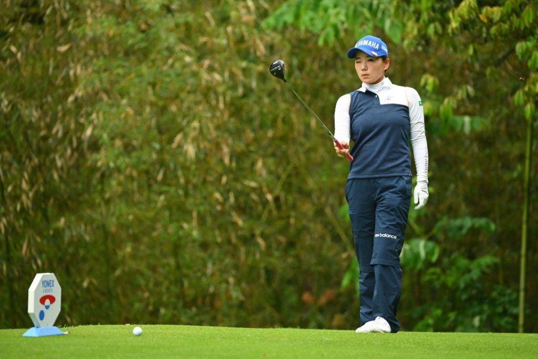 ヨネックスレディスゴルフトーナメント 第1日 有村智恵 <Photo:Atsushi Tomura/Getty Images>