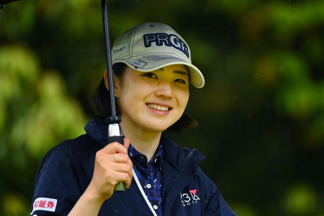 ヨネックスレディスゴルフトーナメント 第1日 辻梨恵 <Photo:Atsushi Tomura/Getty Images>