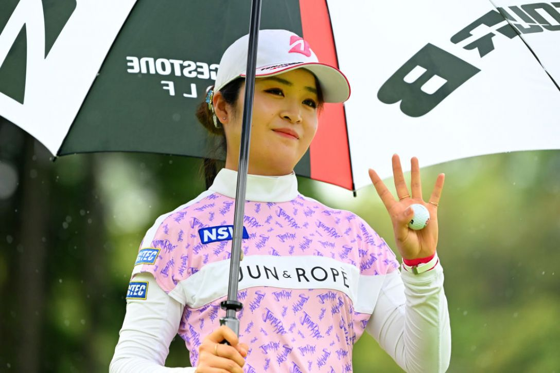 ヨネックスレディスゴルフトーナメント 第1日 三ヶ島かな <Photo:Atsushi Tomura/Getty Images>