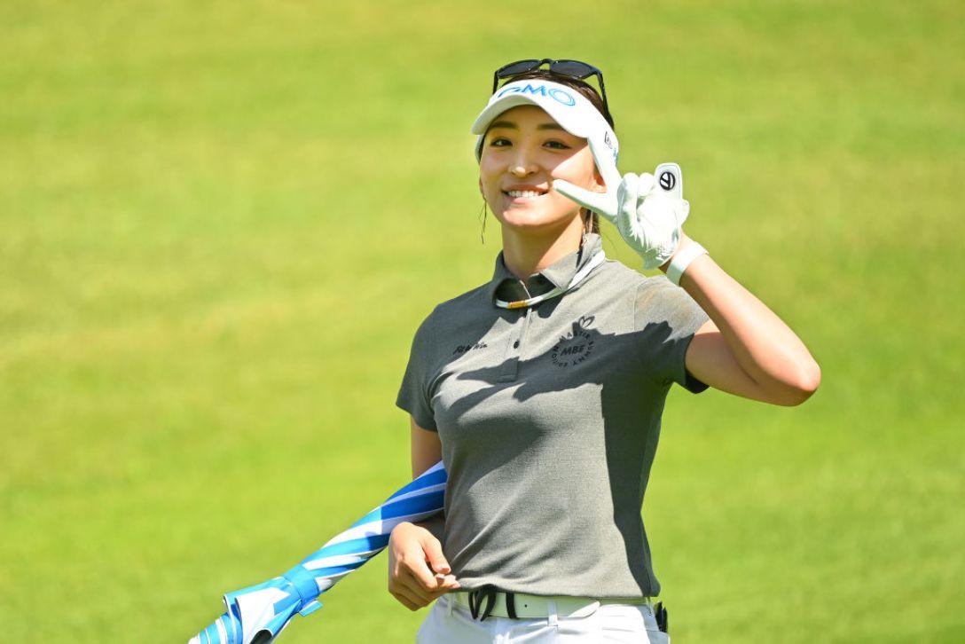 ヨネックスレディスゴルフトーナメント 第2日 脇元華 <Photo:Atsushi Tomura/Getty Images>