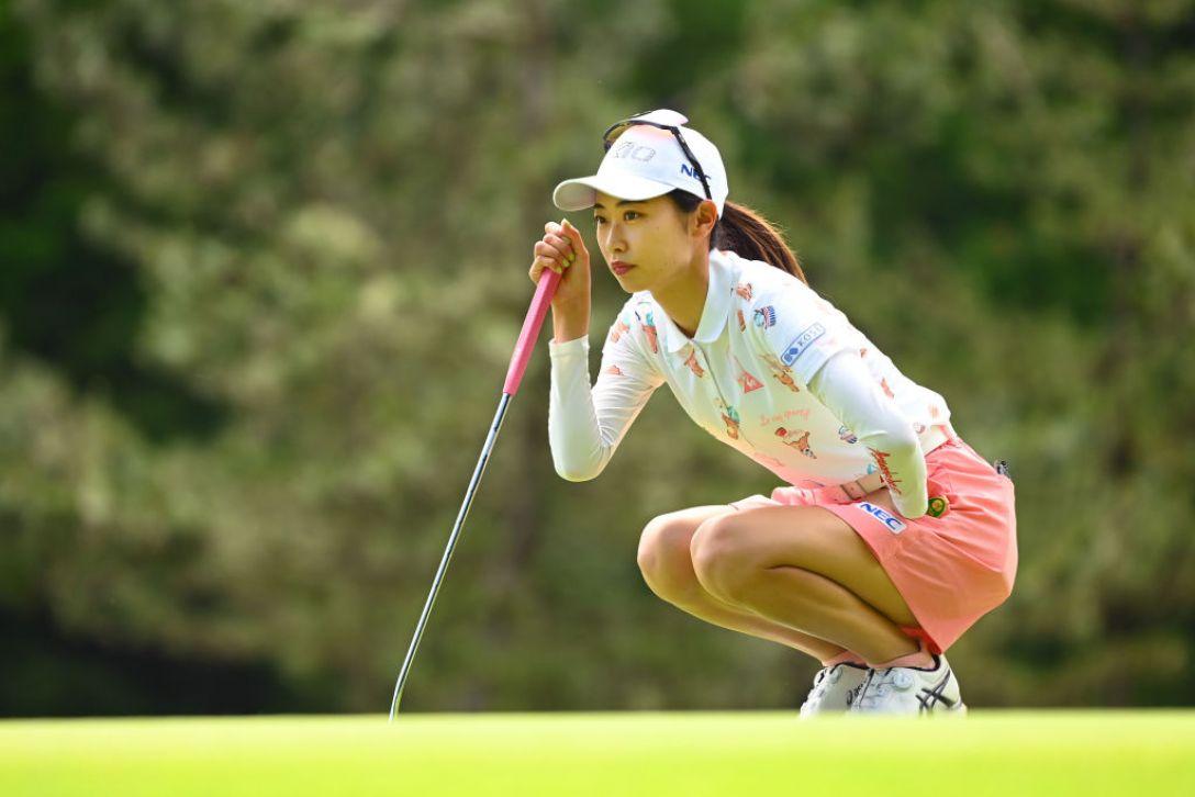 ヨネックスレディスゴルフトーナメント 第2日 安田祐香 <Photo:Atsushi Tomura/Getty Images>