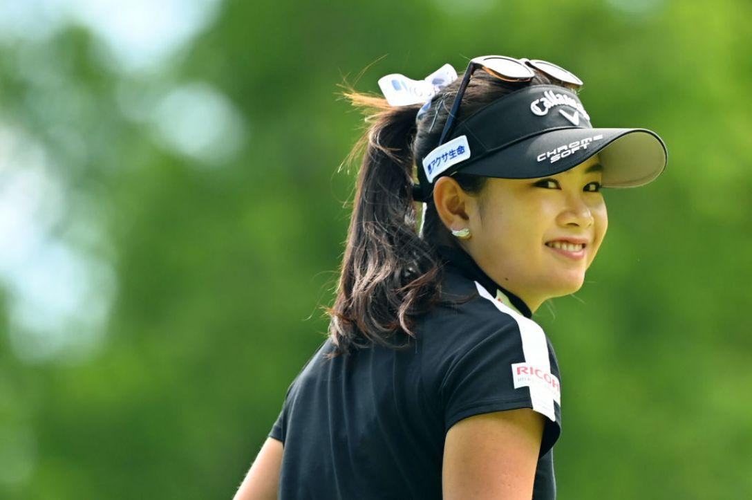 ヨネックスレディスゴルフトーナメント 第2日 河本結 <Photo:Atsushi Tomura/Getty Images>