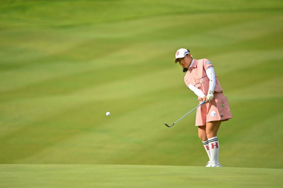 ヨネックスレディスゴルフトーナメント 第2日 吉田優利 <Photo:Atsushi Tomura/Getty Images>