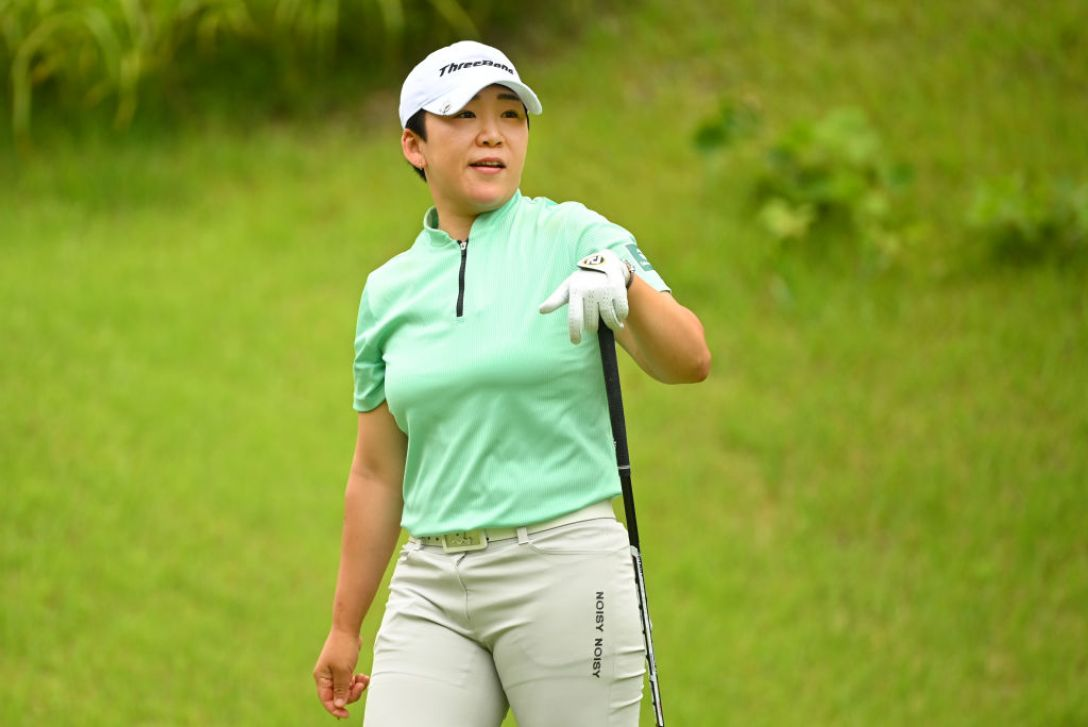 ヨネックスレディスゴルフトーナメント 最終日 申ジエ <Photo:Atsushi Tomura/Getty Images>