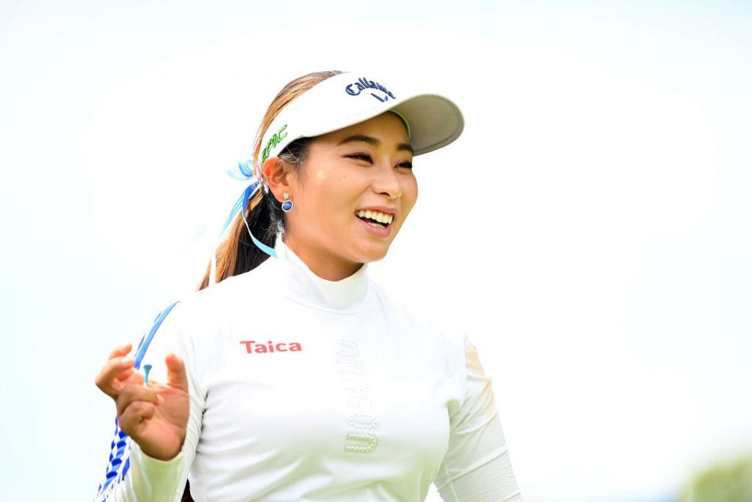 ヨネックスレディスゴルフトーナメント 最終日 竹内美雪 <Photo:Atsushi Tomura/Getty Images>