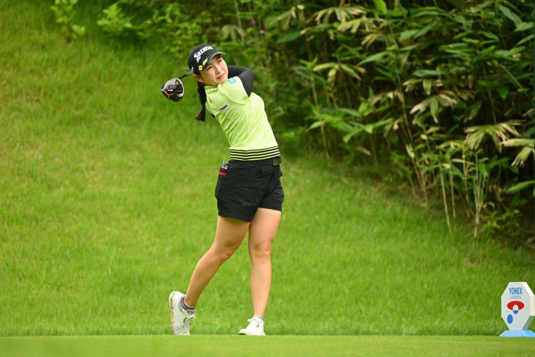 ヨネックスレディスゴルフトーナメント 最終日 小祝さくら <Photo:Atsushi Tomura/Getty Images>