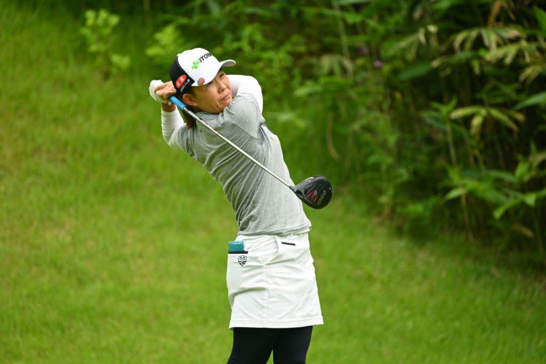 ヨネックスレディスゴルフトーナメント 最終日 前田陽子 <Photo:Atsushi Tomura/Getty Images>