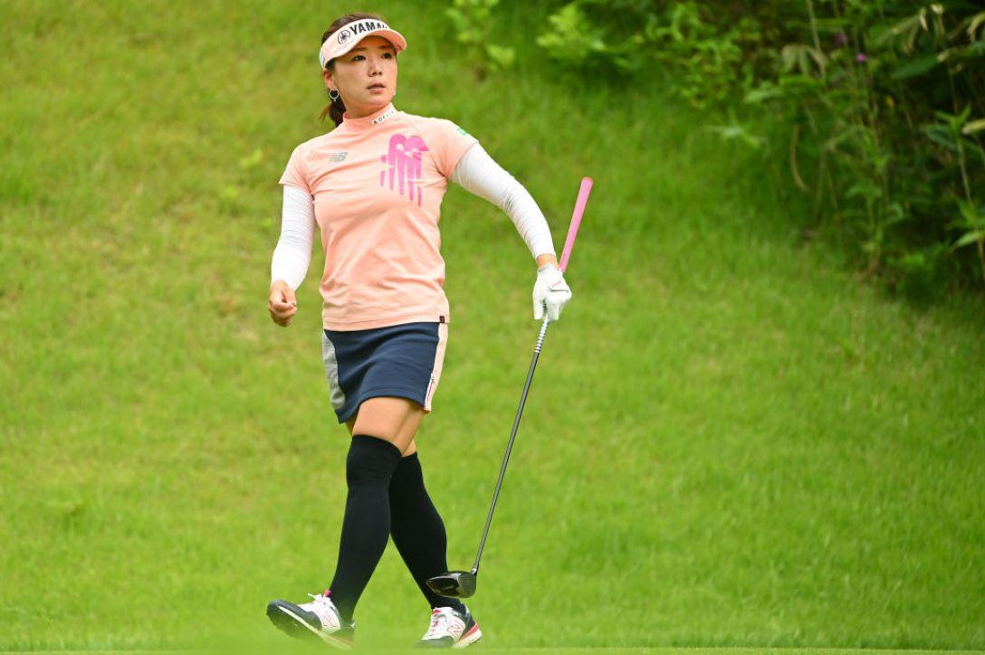 ヨネックスレディスゴルフトーナメント 最終日 有村智恵 <Photo:Atsushi Tomura/Getty Images>