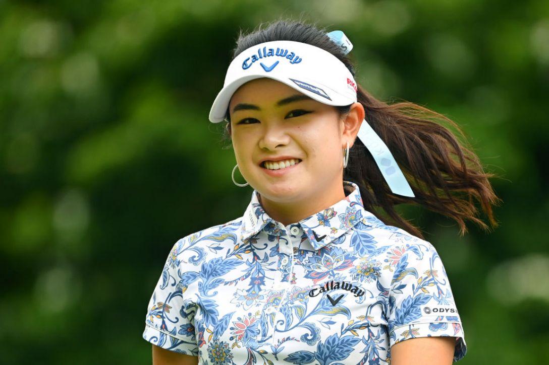 ヨネックスレディスゴルフトーナメント 最終日 河本結 <Photo:Atsushi Tomura/Getty Images>