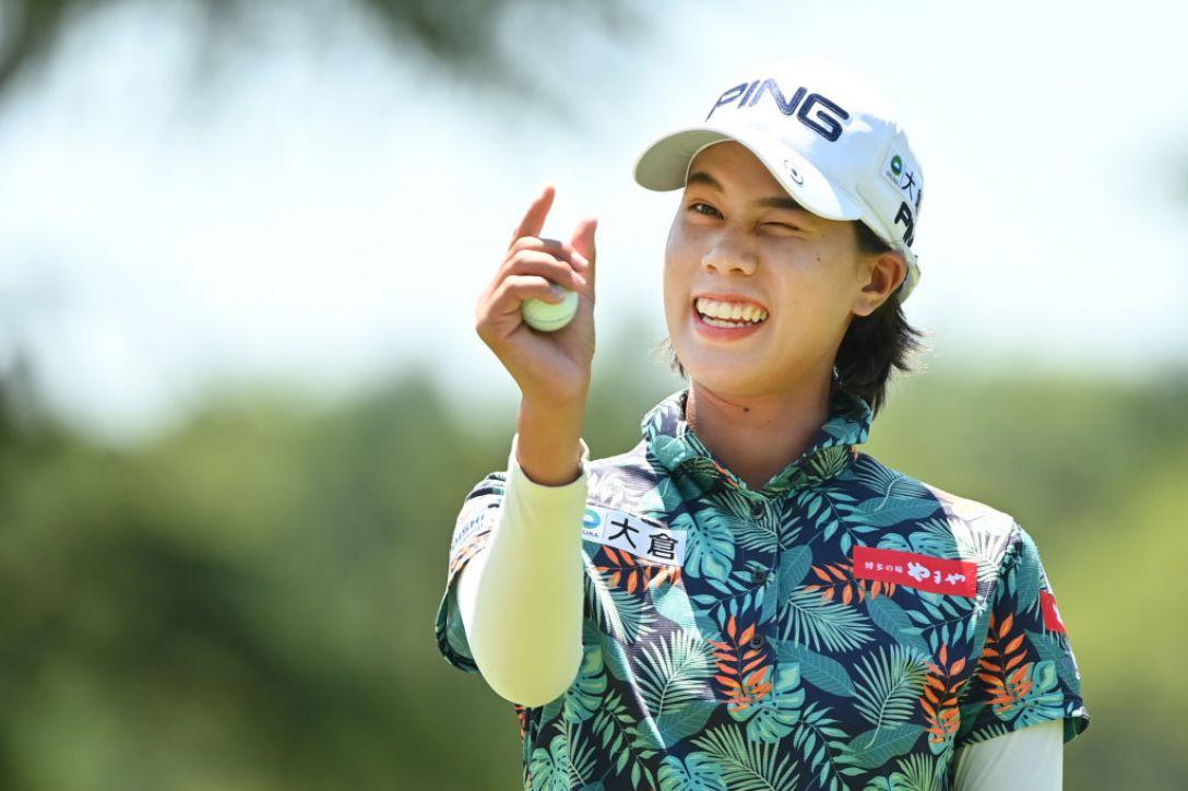 宮里藍 サントリーレディスオープンゴルフトーナメント 第1日 S.ランクン <Photo:Atsushi Tomura/Getty Images>