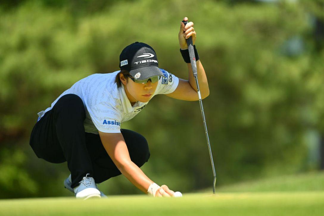 宮里藍 サントリーレディスオープンゴルフトーナメント 第1日 穴井詩 <Photo:Atsushi Tomura/Getty Images>